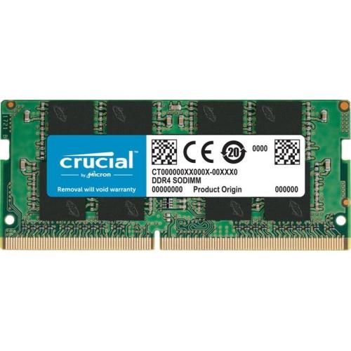 MODULO SODIMM DDR4 8GB 2666MHZ CRUCIAL CL17 1.2V