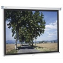 PANTALLA MANUAL PROJECTA SLIMSCREEN 200x200 cm 1:1 CON BORDE NEGRO LATERAL