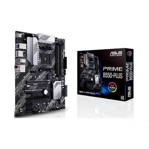 PLACA BASE ASUS AM4 PRIME B550-PLUS ATX·