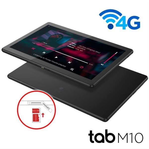 "TABLET LENOVO M10 TB-X505L 10.1"" 4G 2GB 32GB Pie GPS NEGRO"