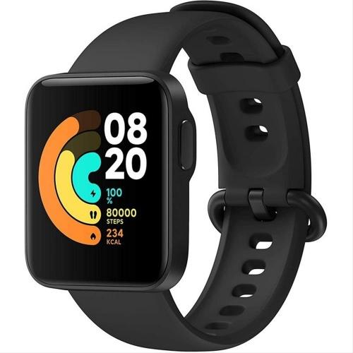 SMARTWATCH XIAOMI MI WATCH LITE BLACK (GPS/Cardio)