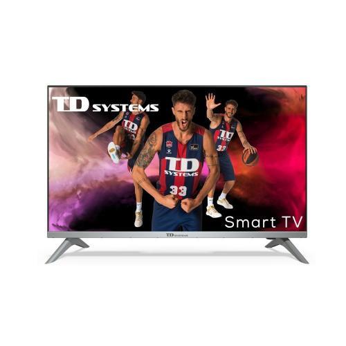 """K32DLJ12HS Televisor 81,3 cm (32"""") HD Smart TV Wifi Negro, Plata - Imagen 1"""