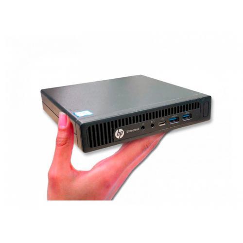 HP EliteDesk 600 G2 Mini Intel Core i5 6400T 2.2 GHz. · 8 Gb. SO-DDR4 RAM · 240 Gb. SSD · Windows 10 Pro - Imagen 1