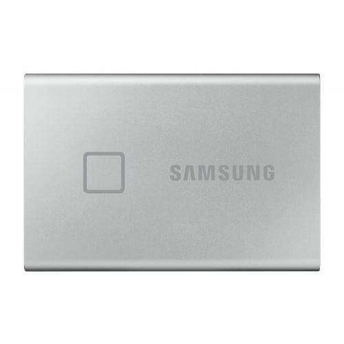 "HD EXTERNO SSD 2.5"" 500GB SAMSUNG T7 TOUCH SILVER USB3.2 Gen.2 (Lect. Huella)"