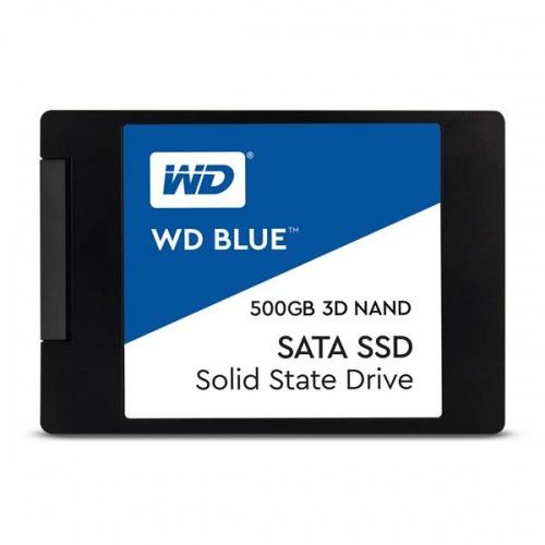"""SSD 2.5"""" 500GB WD BLUE 3D NAND R560/W530 MB/s"""
