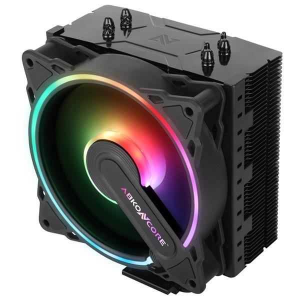 VENTILADOR CPU UNIVERSAL ABKONCORE COOL STORM HURRICANE SYNC ARGB