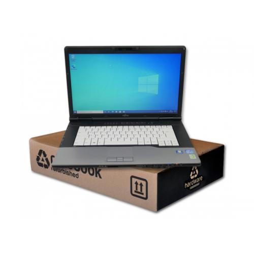 Fujitsu Lifebook E752Intel Core i5 3320M 2.6 GHz. · 8 Gb. SO-DDR3 RAM · 500 Gb. SATA · DVD-RW · Teclado internacional con pe