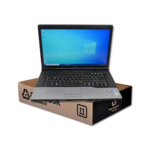 Fujitsu Lifebook E752Intel Core i5 3320M 2.6 GHz. · 8 Gb. SO-DDR3 RAM · 500 Gb. SATA · DVD-RW · Teclado internacional con pe
