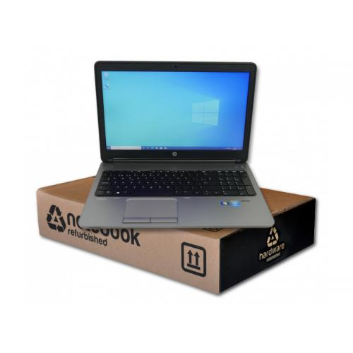 HP 650 G1 ProBook Intel Core i5 4300M 2.6 GHz. · 8 Gb. SO-DDR3 RAM · 128 Gb. SSD · DVD · Windows 10 Pro · Led 15.6 '' HD 16:9