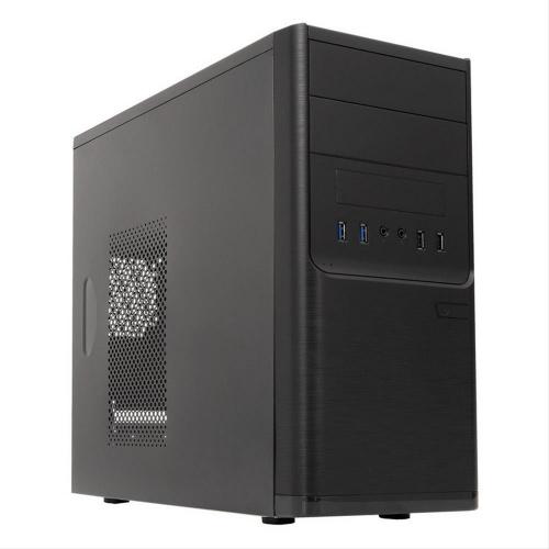 CAJA UNYKA SHADOW DARK MICRO ATX USB 3.0 BLACK FUENTE 500W