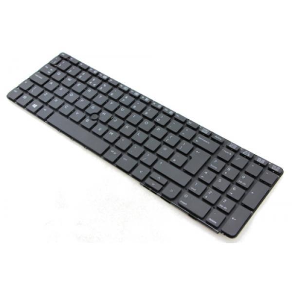 HP 650 G2/G3 Keyboard without P/S (SWE/FI) - Imagen 1