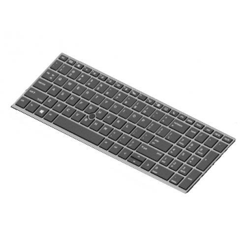 HP 850/EB 15 G5/G6 Keyboard - FR - BL