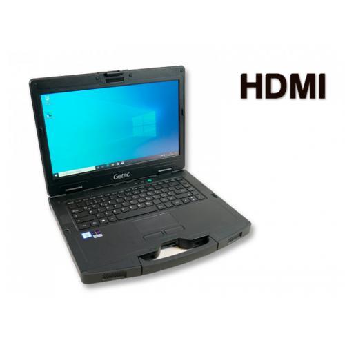 Getac S410 Rugerizado Intel Core i5 6300U 2.4 GHz. · 16 Gb. SO-DDR4 RAM · 1.00 Tb. SSD M2 · Teclado internacional con pegatinas