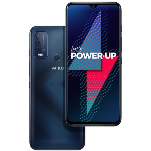 "Power U30 17,3 cm (6.8"") SIM doble Android 11 4G USB Tipo C 4 GB 64 GB 6000 mAh Azul, Carbono - Imagen 1"