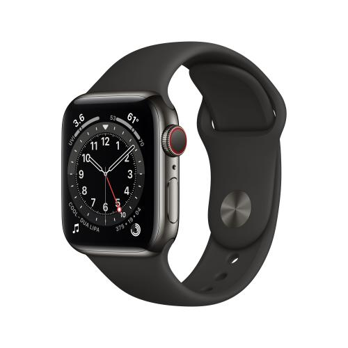 Watch Series 6 40 mm OLED 4G Grafito GPS (satélite)