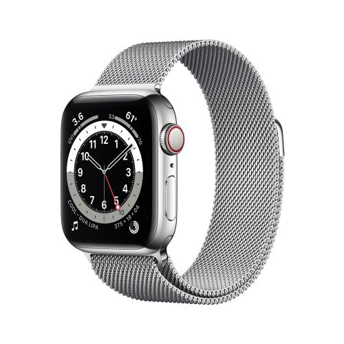 Watch Series 6 40 mm OLED 4G Plata GPS (satélite)