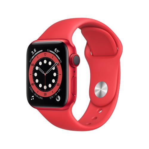 Watch Series 6 OLED 40 mm Rojo 4G GPS (satélite)