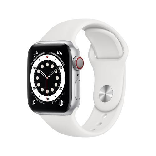 Watch Series 6 OLED 40 mm Plata 4G GPS (satélite)