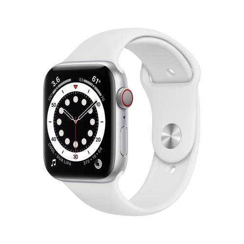 Watch Series 6 OLED 44 mm Plata 4G GPS (satélite)