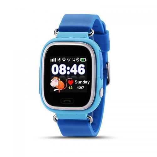 "Kids Way 3,1 cm (1.22"") LCD 2G Azul GPS (satélite)"