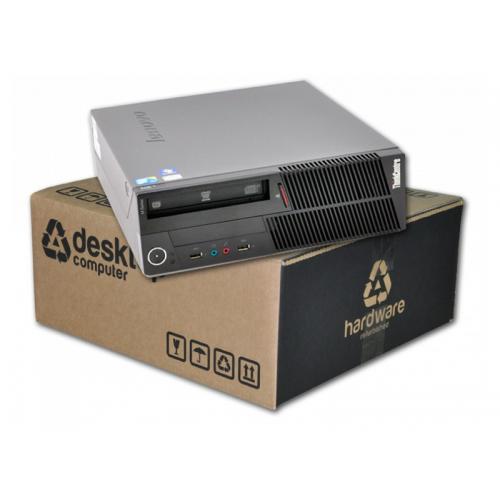 Lenovo ThinkCentre M90 SFF Intel Core i3 530 2.93 GHz. · 4 Gb. DDR3 RAM · 160 Gb. SATA · DVD · Ubuntu GNU/Linux