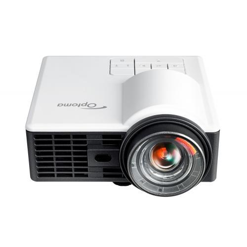 ML1050ST+ videoproyector Short throw projector 1000 lúmenes ANSI DLP WXGA (1280x800) 3D Negro, Blanco