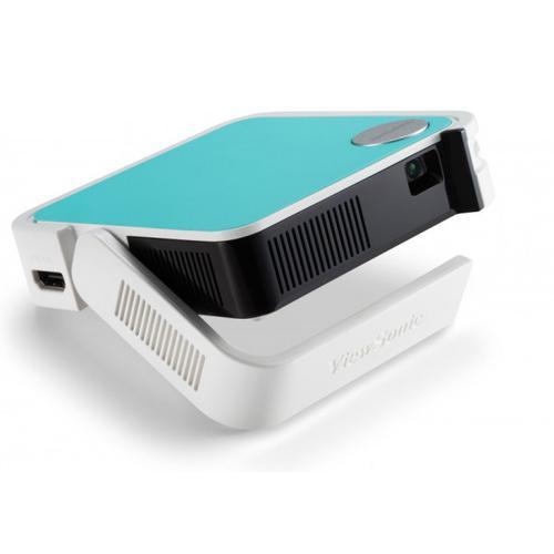 Viewsonic M1 mini Plus videoproyector Proyector portátil 120 lúmenes ANSI LED WVGA (854x480) Blanco