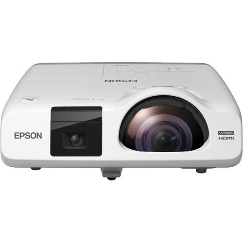 Epson EB-536Wi videoproyector 3400 lúmenes ANSI 3LCD WXGA (1280x800) Proyector para escritorio Blanco