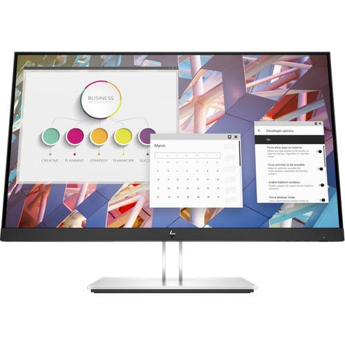 "HP E24 G4 60,5 cm (23.8"") 1920 x 1080 Pixeles Full HD LCD Negro, Plata"