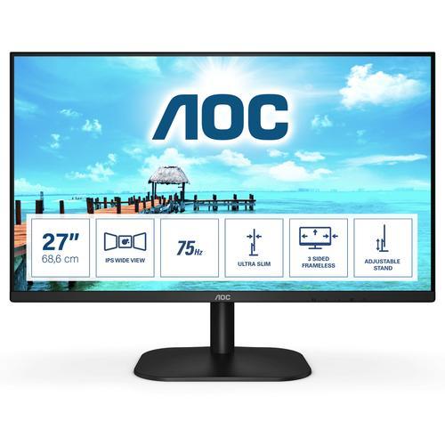 "AOC B2 27B2H/EU LED display 68,6 cm (27"") 1920 x 1080 Pixeles Full HD Negro - Imagen 1"