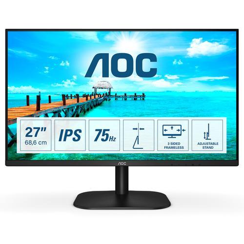 "AOC 27B2H pantalla para PC 68,6 cm (27"") 1920 x 1080 Pixeles Full HD LED Negro - Imagen 1"