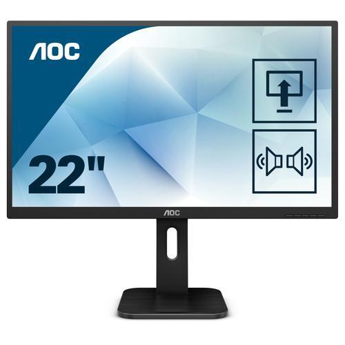 "AOC Pro-line 22P1D LED display 54,6 cm (21.5"") Full HD Plana Mate Negro - Imagen 1"