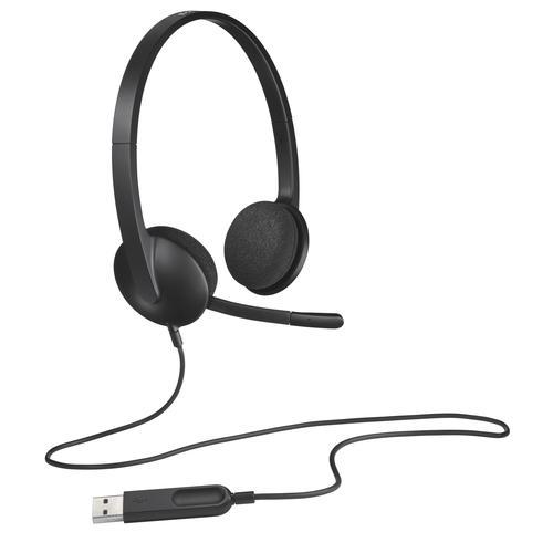 Logitech H340 USB Headset - Imagen 1