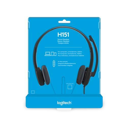 Logitech Stereo H151, Headset, On-Ear - Imagen 1