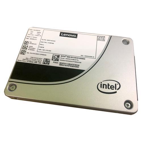 S4510 480GB Entry SATA 6Gb Hot Swap SSD - Imagen 1