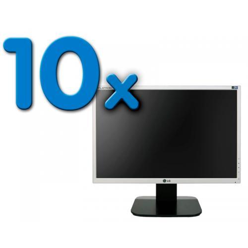 LG L192W PACK 10 Pack 10 Unidades: LCD 19 '' HD 16:9 · Resolución 1440x900 · Respuesta 5 ms · Contraste 700:1 · Brillo 300 cd/m2