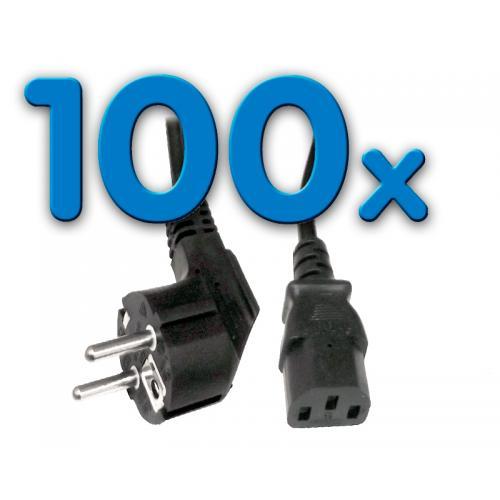 Alimentación CLB-COR Pack 100 Pack 100 Unidades: Cable Alimentación schuko