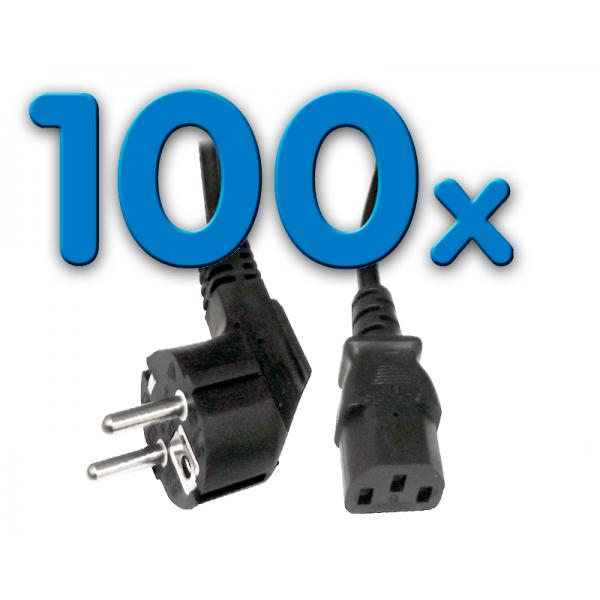 Alimentación CLB-COR Pack 100 Pack 100 Unidades: Cable Alimentación schuko - Imagen 1