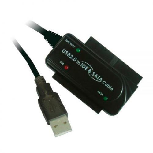 Adaptador USB a IDE/SATA Adaptador USB a IDE/SATA - Imagen 1