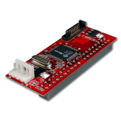 Adaptador Serial-ATA a IDE Adaptador Serial-ATA a IDE - Conecta dispositivos IDE a un controlador SATA. - Imagen 1