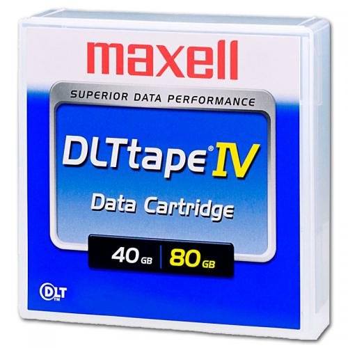 Cartucho MAXELL DLT 4 40/80Gb. Cartucho MAXELL DLT IV 40/80 Gb. - Imagen 1
