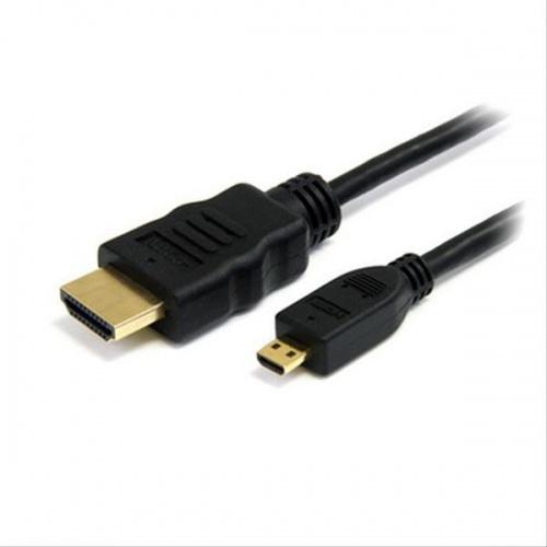 CABLE MICRO HDMI A HDMI V1.4 ALTA VELOCIDAD/HEC, A/M-D/M 1.8M NANOCABLE