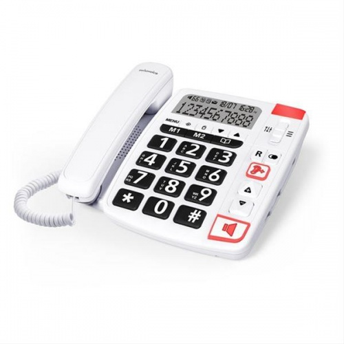 TELEFONO SOBREMESA SWISSVOICE COMPACTO XTRA 1150 BLANCO
