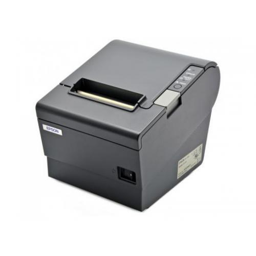 Epson TM-T88V USB Térmica · Ancho de papel 83mm · Corte automático · Velocidad de impresión 300 mm/s · Caracteres por pulgada 20