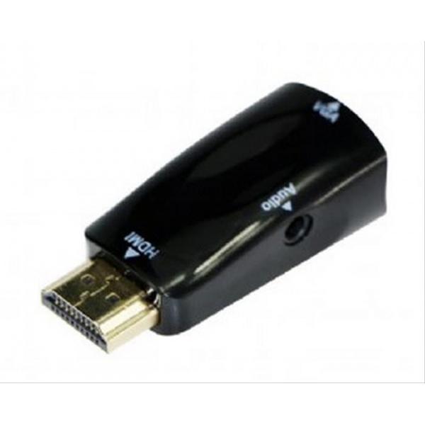 ADAPTADOR GEMBIRD HDMI - VGA Y AUDIO