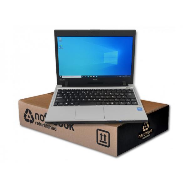 NEC VersaPro VK25LCZDM Intel Core i3 4100M 2.5 GHz. · 8 Gb. SO-DDR3 RAM · 256 Gb. SSD · Windows 10 Pro · TFT 13.3 '' HD 16:9 ·