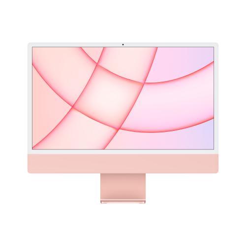 "iMac 61 cm (24"") 4480 x 2520 Pixeles Apple M 8 GB 256 GB SSD PC todo en uno macOS Big Sur Wi-Fi 6 (802.11ax) Rosa"