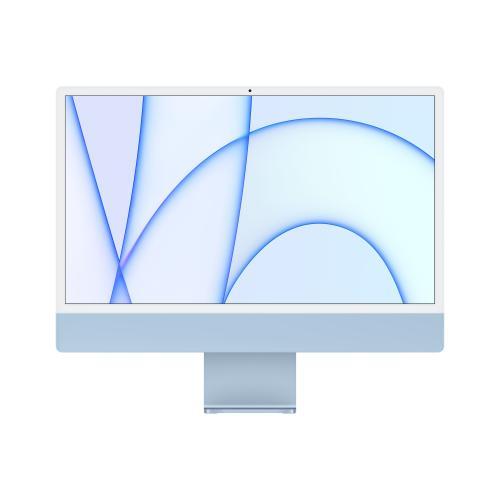 "iMac 61 cm (24"") 4480 x 2520 Pixeles Apple M 8 GB 256 GB SSD PC todo en uno macOS Big Sur Wi-Fi 6 (802.11ax) Azul"