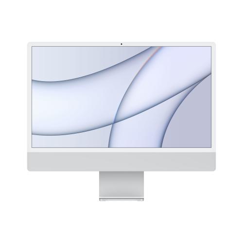 "iMac 61 cm (24"") 4480 x 2520 Pixeles Apple M 8 GB 256 GB SSD PC todo en uno macOS Big Sur Wi-Fi 6 (802.11ax) Plata"