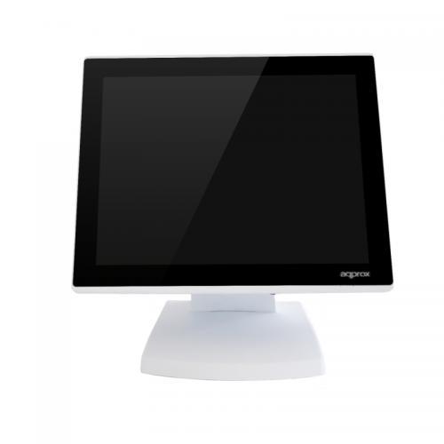 "APPTPV01WH+ sistema POS Todo-en-Uno 2 GHz J1900 38,4 cm (15.1"") 1024 x 768 Pixeles Pantalla táctil Blanco"